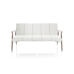Sahara Wood Sofa | Lounge sofas | Lammhults