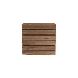 Teak Horizon night stand | Mesillas de noche | Ethnicraft