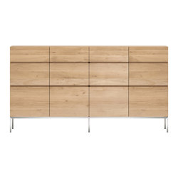 Oak Ligna sideboard high | Sideboards | Ethnicraft