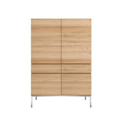 Oak Ligna storage cupboard | Armarios | Ethnicraft
