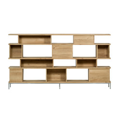Oak Ligna rack | Scaffali | Ethnicraft