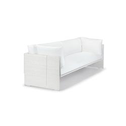 Slim Line 4er Sofa | Gartensofas | DEDON