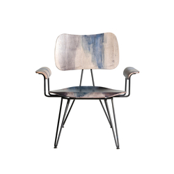 Overdyed Lounge Chair | Armchairs | Diesel by Moroso