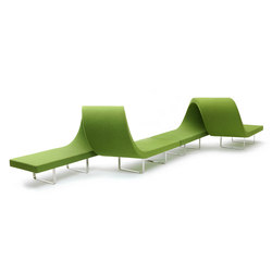Longway L | Modular seating elements | Segis