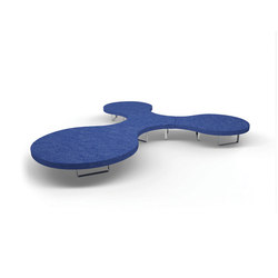 Longway Q-R | Seating islands | Segis