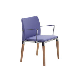 Zenith | Visitors chairs / Side chairs | Segis