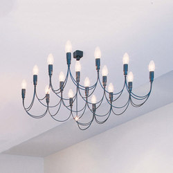 Lightness Chandelier | Ceiling suspended chandeliers | STENG LICHT
