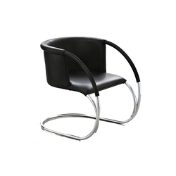 ML 33, leather Black | Loungesessel | by Lassen