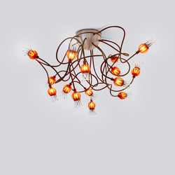 Poppy Ceiling with 15 Arms | Illuminazione generale | serien.lighting