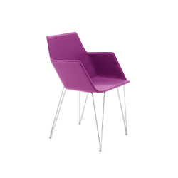 Elsa armchair | Visitors chairs / Side chairs | Ligne Roset