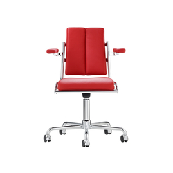 D12 Desk chair with armrests | Sillas | TECTA
