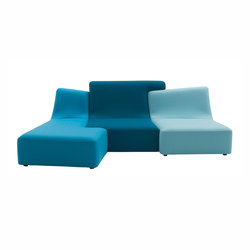 Confluences | 3-Seat Settee/Right Multicolour Version | Sofas | Ligne Roset