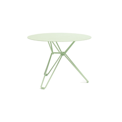 Tio Circular Low Table Metal | Garten-Couchtische | Massproductions