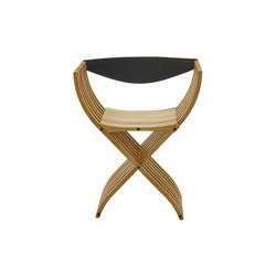 Curule | Silla Roble Tono Natural | Chairs | Ligne Roset