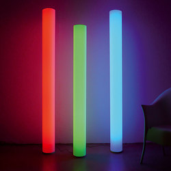 WHITE FLOOR XL COLORLED | Free-standing lights | chameledeon