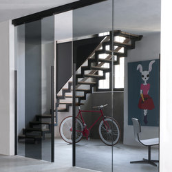 Dot sliding door | Partitions | Albed