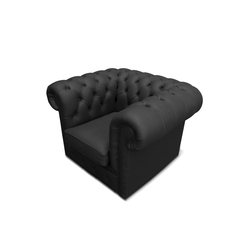 Plastic Fantastic club chair black | Garden armchairs | JSPR