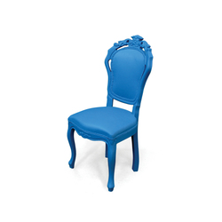 Plastic Fantastic dining chair blue | Garden chairs | JSPR