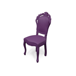 Plastic Fantastic dining chair plumm | Garden chairs | JSPR
