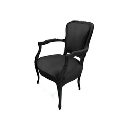 Plastic Fantastic petit toi black | Garden armchairs | JSPR