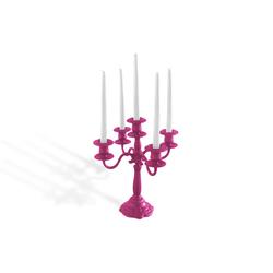 Plastic Fantastic candelabra | Portacandele | JSPR