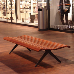Campo Bench without backrest | Exterior benches | BURRI