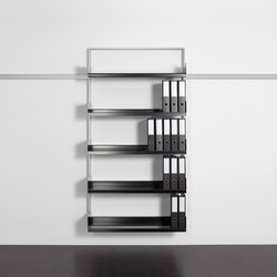 adeco wallstreet 100 | Office shelving systems | adeco