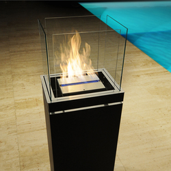 high flame | Ventless ethanol fires | Radius Design