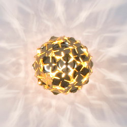 Orten'zia Very Very Gold | Wall lights | Terzani