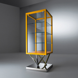 Sottsass | Glass-case SA 30 | Display cabinets | Laurameroni