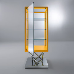 Sottsass | Glass-case | Display cabinets | Laurameroni