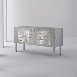 Intarsia | Sideboard Le Formiche Nere | Sideboards | Laurameroni