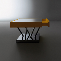 Sottsass | Table basse SA 04 | Tables d'appoint | Laurameroni