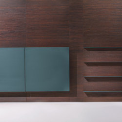 Decor | Wall Covering Panel with cupboard | Shelving | Laurameroni