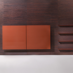 Decor | Wall Covering Panel with cupboard | Shelving systems | Laurameroni