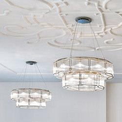 Stilio 10/7 | Ceiling suspended chandeliers | Licht im Raum