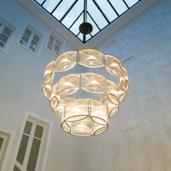 Stilio 11/8/5 Brass | General lighting | Licht im Raum
