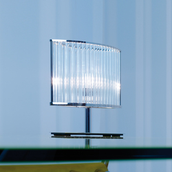 Stilio table lamp hand polished | Iluminación general | Licht im Raum
