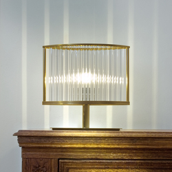 Stilio table lamp pure brass | General lighting | Licht im Raum