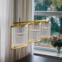 Stilio 3 pure brass | General lighting | Licht im Raum