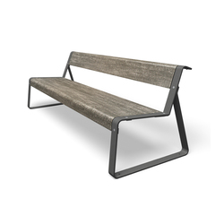 La Superfine | Exterior benches | miramondo