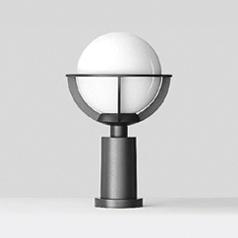 Pillar luminaire 4290/4295/4296 | Iluminación de caminos | BEGA