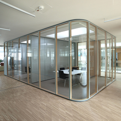 TS1 Aluminium | Wall partition systems | Scheicher.Wand