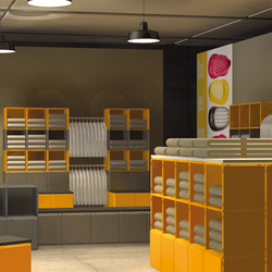 q56_shopfitting_display | Modular structural systems | qubing.de