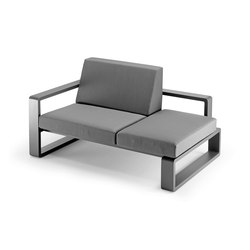 Kama | Meridian with Right Armrest | Chaise longue | EGO Paris