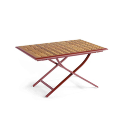 Tables basses de jardin r glable en hauteur tables - Table de salon reglable en hauteur ...