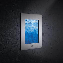 Signis 104-2 ALU in-wall LAN | Wall mounted displays | ELEMENT ONE