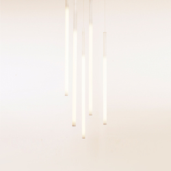 Tube Pendant V | Suspended lights | lichtprojekte