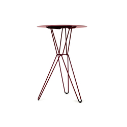 Tio Circular Bar Table Metal | Mesas altas | Massproductions