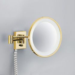 BS 40 PL gold | Shaving mirrors | DECOR WALTHER